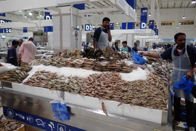 рыбный рынок, Дубай