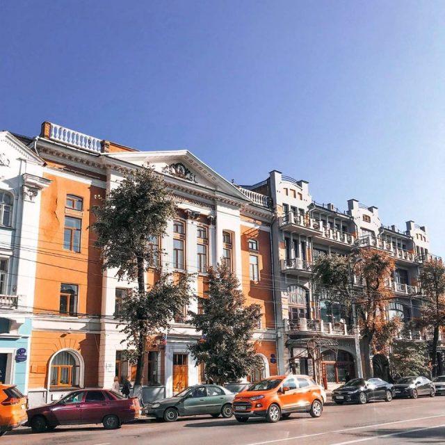 Воронеж архитектура