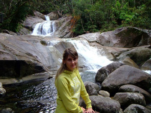 Австралия водопад