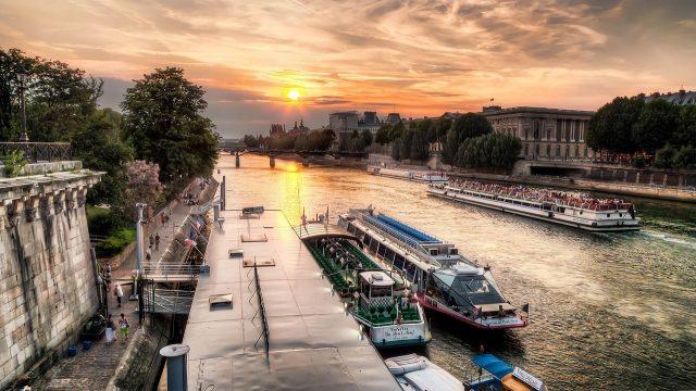 Париж река