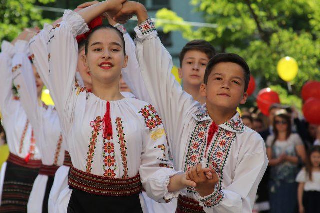 национальная одежда молдован
