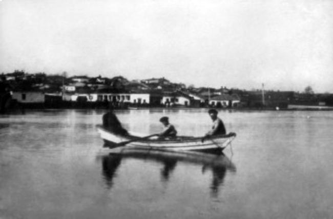 Река Бык во время наводнения