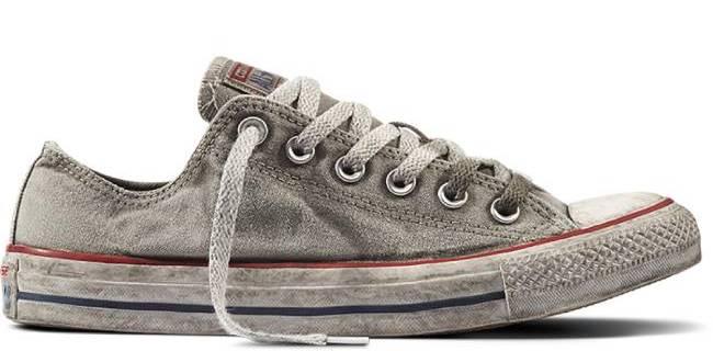 Converse выпустил «грязные» кеды