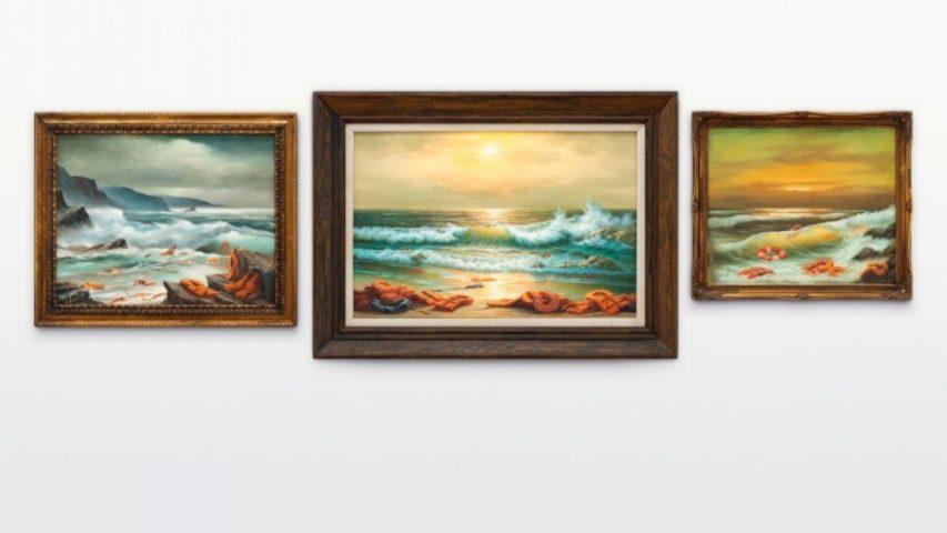 Картина анонимного художника ушла с аукциона за 2,9 миллиона долларов
