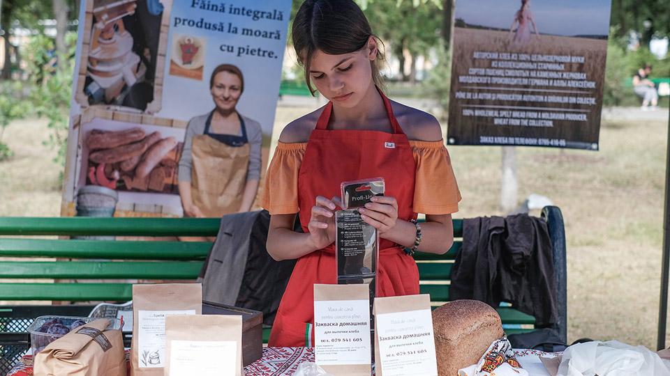 В сквере Кафедрального собора открылась ярмарка «Cămara Fest»