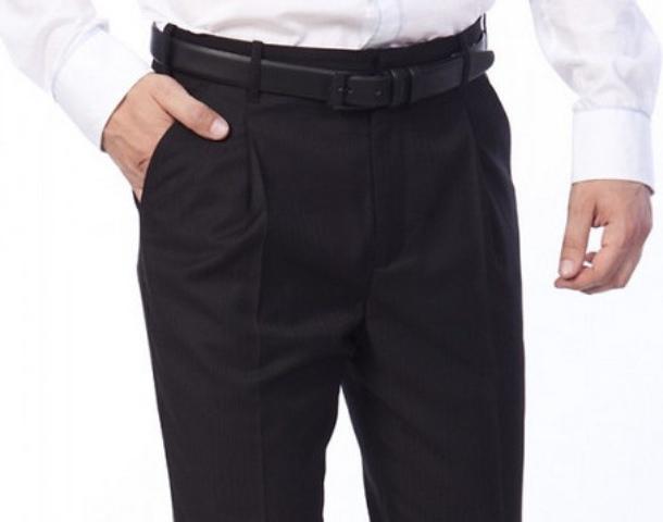 Как должны сидеть брюки?