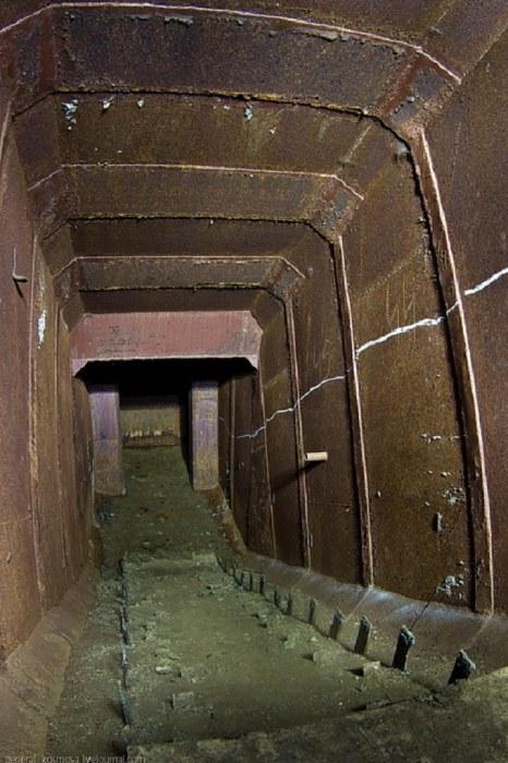 вход в Шолданештский подземный бункер