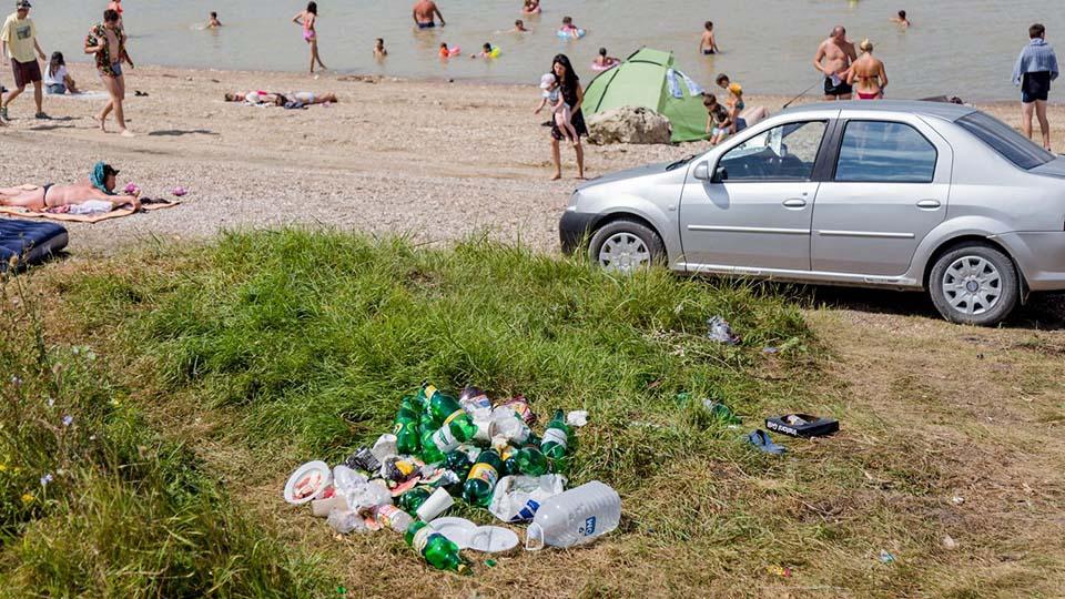 Как выглядит Костештское «море» в разгар сезона