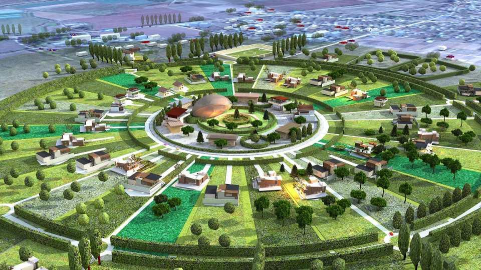 Молдавский проект эко-поселка