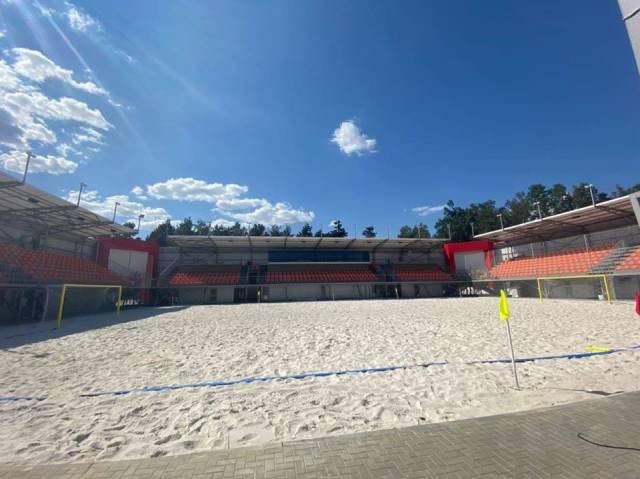 пляжный стадион парка La izvor