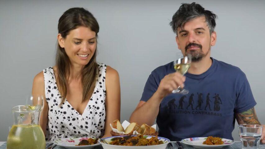 Итальянцы пробуют молдавскую кухню