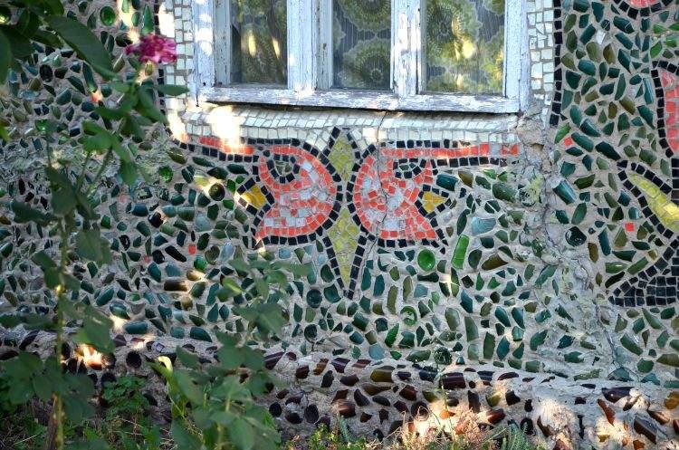 мозаика на доме