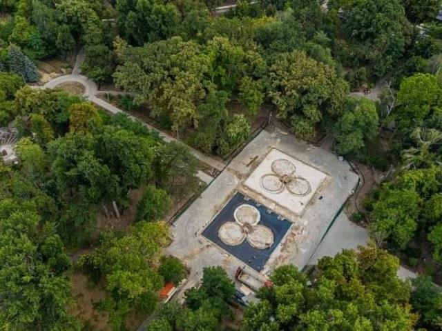 В парке Alunelul появятся два музыкальных фонтана