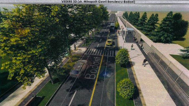 Вот так будут выглядеть улицы Бэнулеску-Бодони и Пушкина.