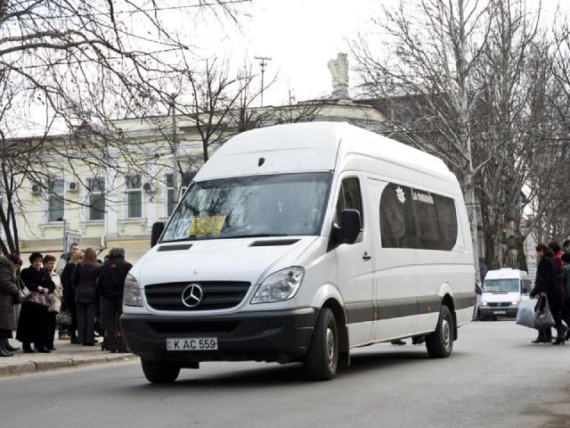 В Кишиневе с 21 по 23 августа будет изменен маршрут нескольких микроавтобусов