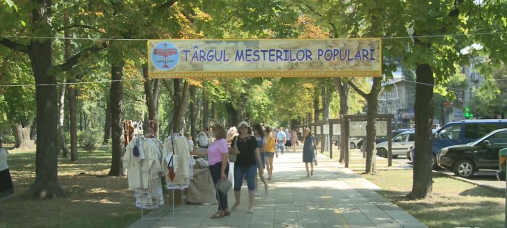 В Кишиневе организовали ярмарку в поддержку национальных мастеров