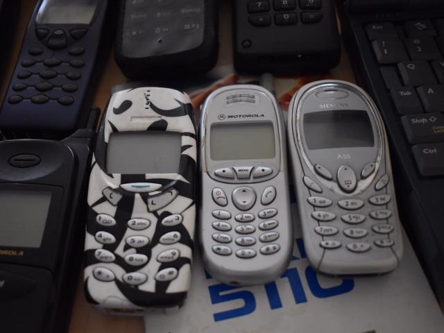 модели телефонов начала нулевых