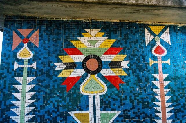 Мозаичные остановки - наследие Молдовы