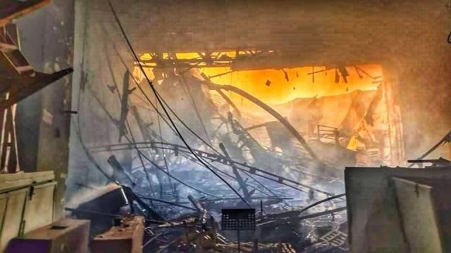 пожар в Филармонии