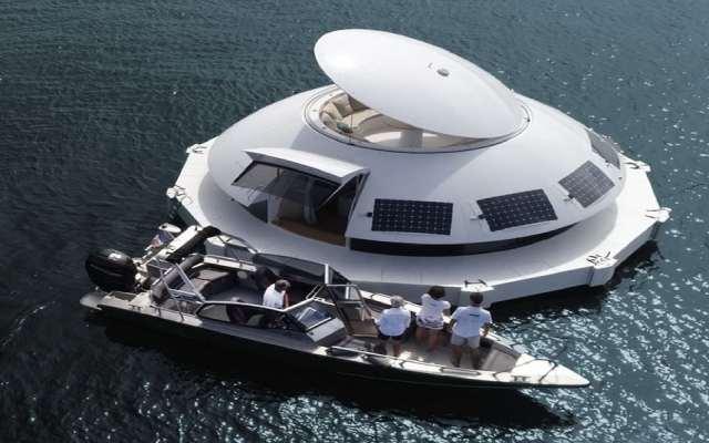 Французских архитектор представил проект плавучего дома