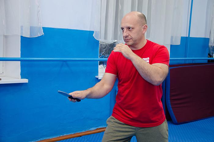 Геннадий Чебан, ножевой бой, тренер