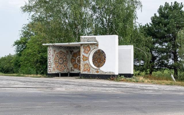 мозаичные остановки, Молдова