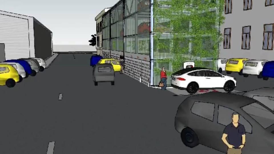 проблема парковок в центре Кишинева