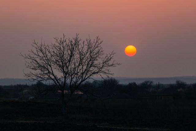 Прекрасные закаты в снимках молдавского фотографа