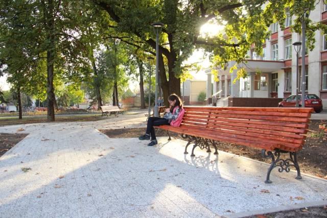 кишиневский сквер на Киевской после ремонта
