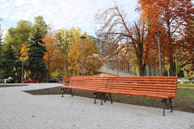 Как выглядит кишиневский сквер на Киевской после ремонта