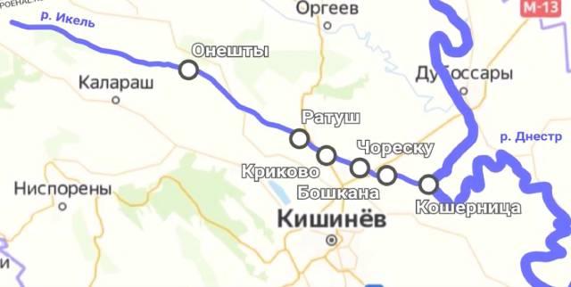 Отравленные реки Молдовы в фильме Владимира Карманова. Икель