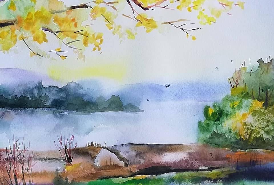 Молдавская осень в уютных акварелях Анны Прониной - 2