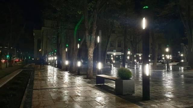 обновленный сквер Еминеску