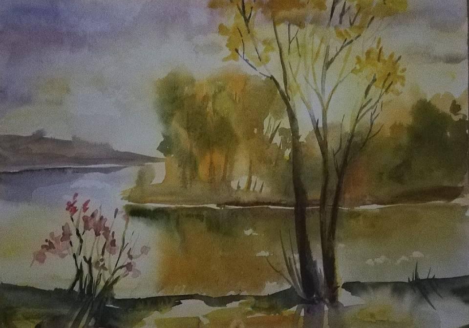 Молдавская осень в уютных акварелях Анны Прониной - 4