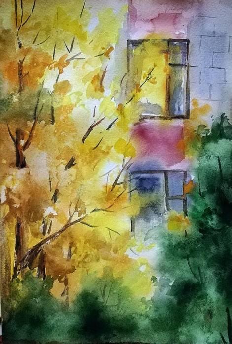 Молдавская осень в уютных акварелях Анны Прониной - 6