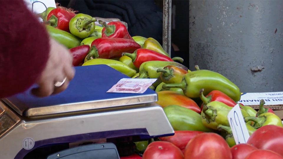 Цены на продукты за последний месяц вновь выросли.