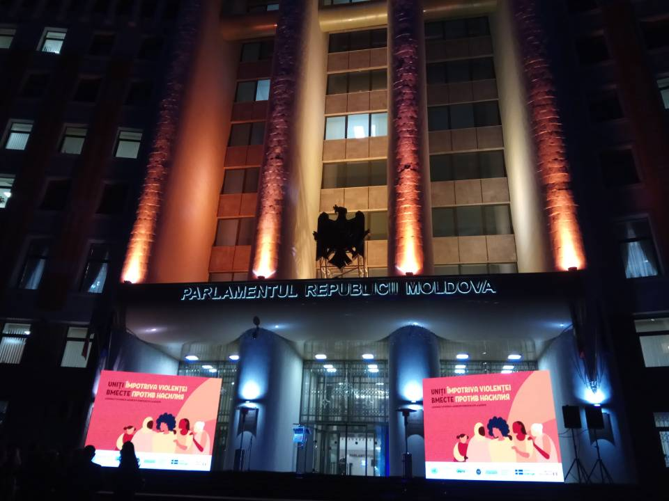 В Молдове проходит кампания против гендерного насилия