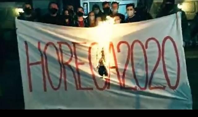"""""""ХВАТИТ!"""" Кишиневские рестораторы запустили флэшмоб-протест"""