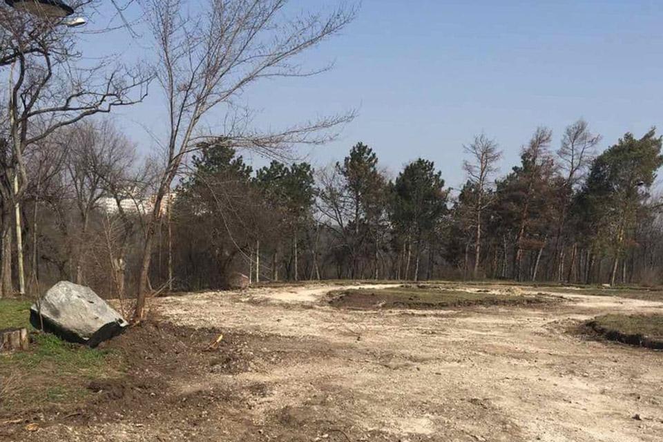 На Ботанике обустроят сквер памяти жертв Чернобыльской аварии