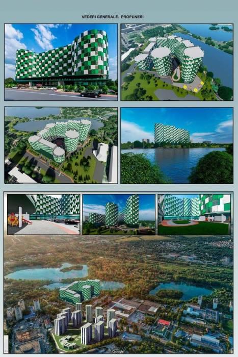 В парке La Izvor хотят построить многоэтажный комплекс
