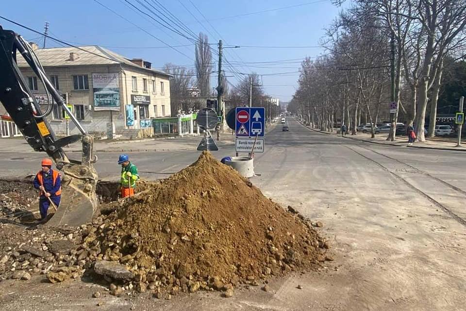 Закрыт проезд на участке Алба-Юлия – Белинского
