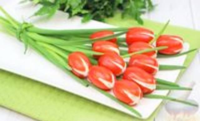 Цветочные закуски