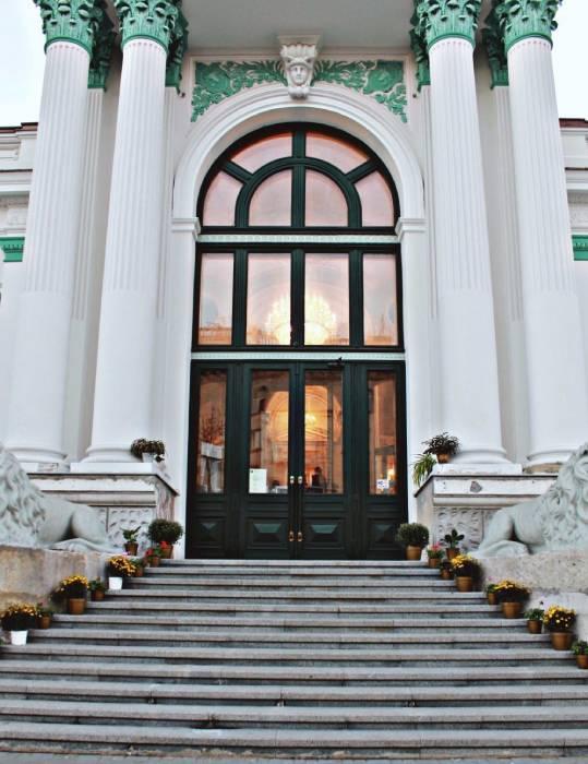 двери Органного зала, Кишинев