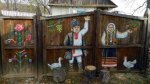 Двери в детство. Волшебные ворота молдавских сел